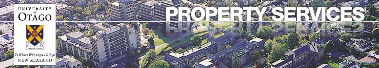 Property Services, University of Otago